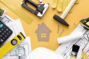 Compra de materiais de construção
